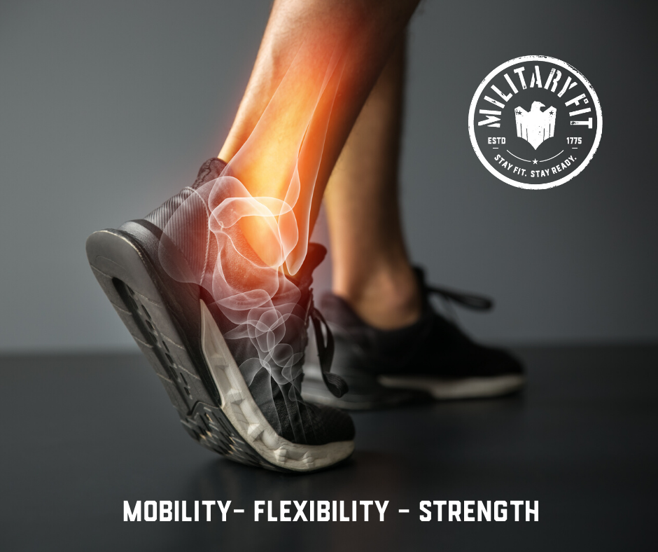 Ankle – Flexibility – Mobility & Strength